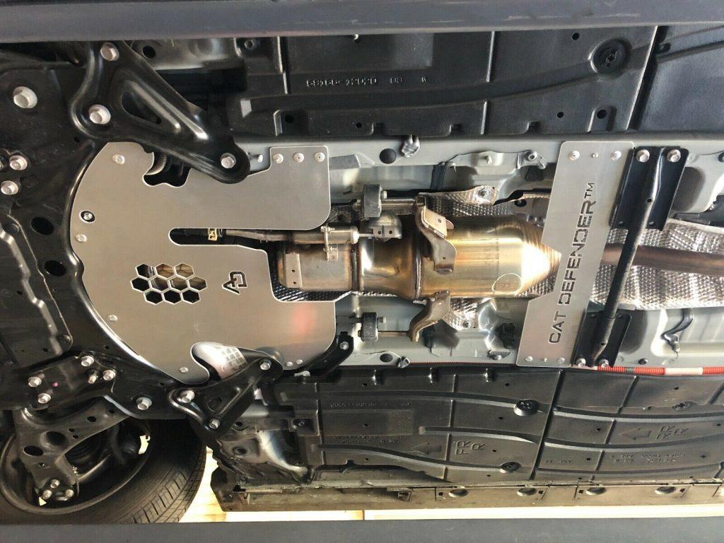 Prius Catalytic Converter Defense installed