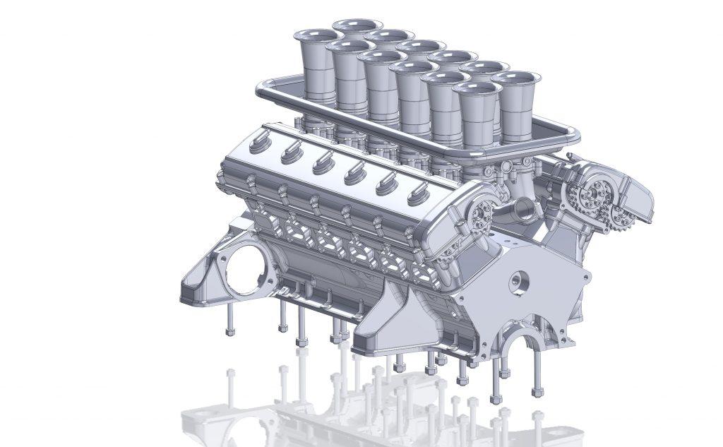 Project Moderna design render engine