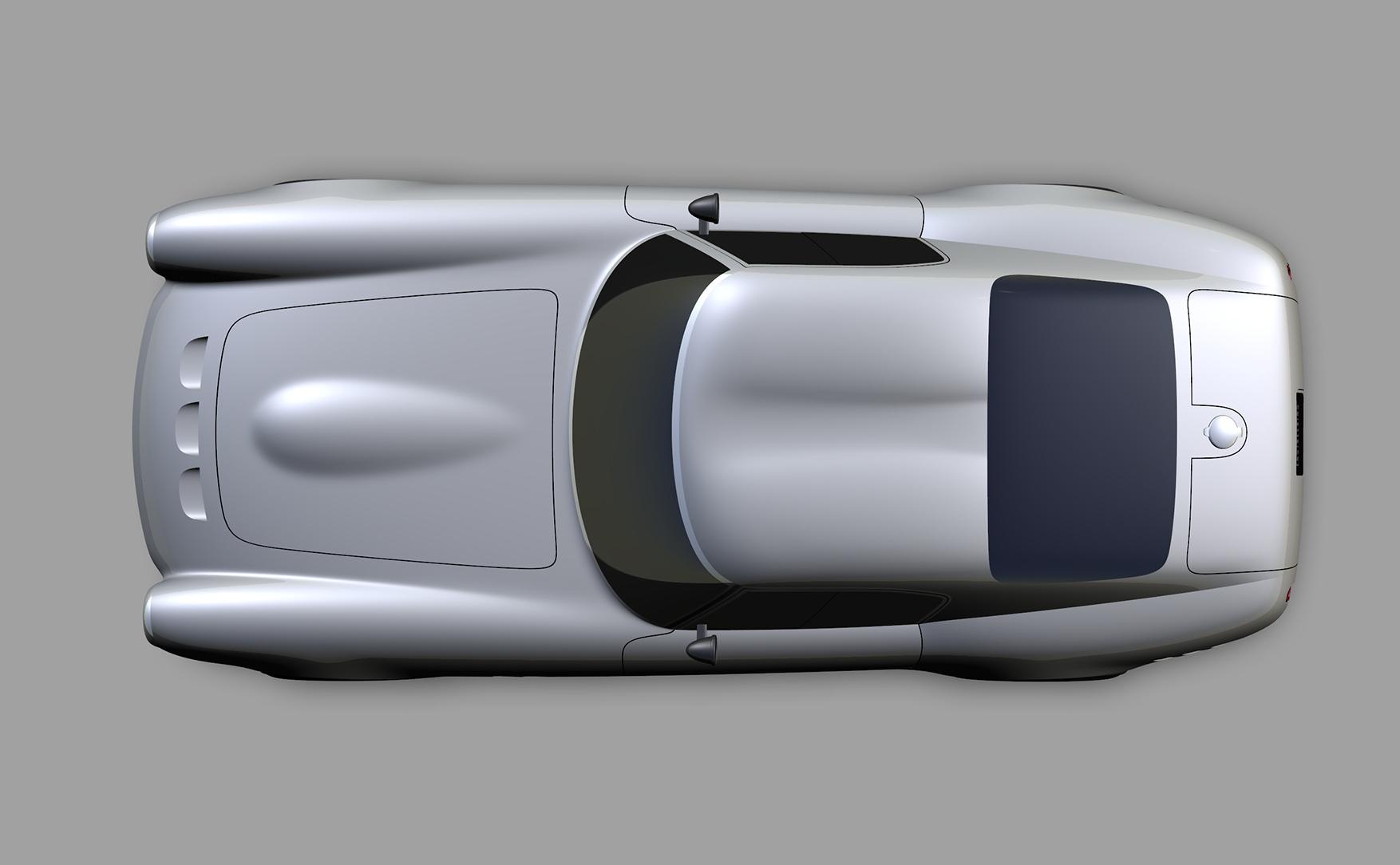 Project Moderna design render overhead