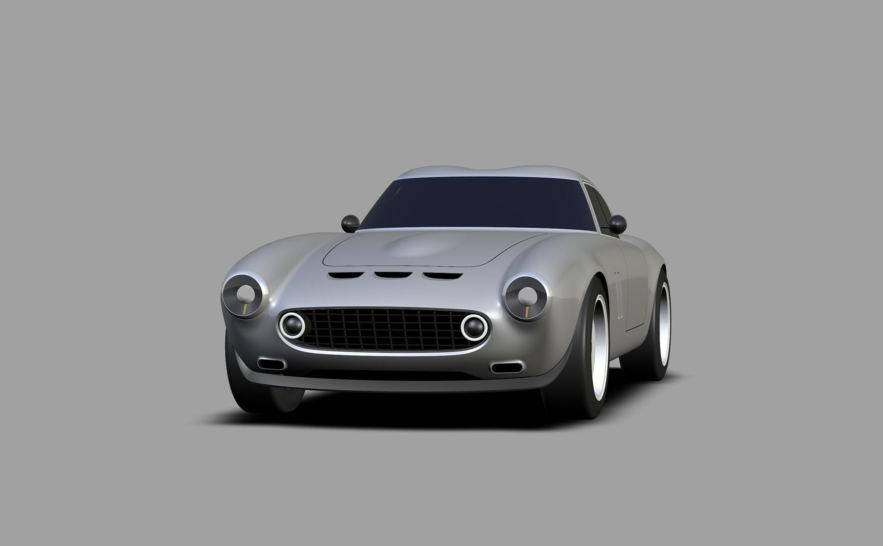 Project Moderna design render front