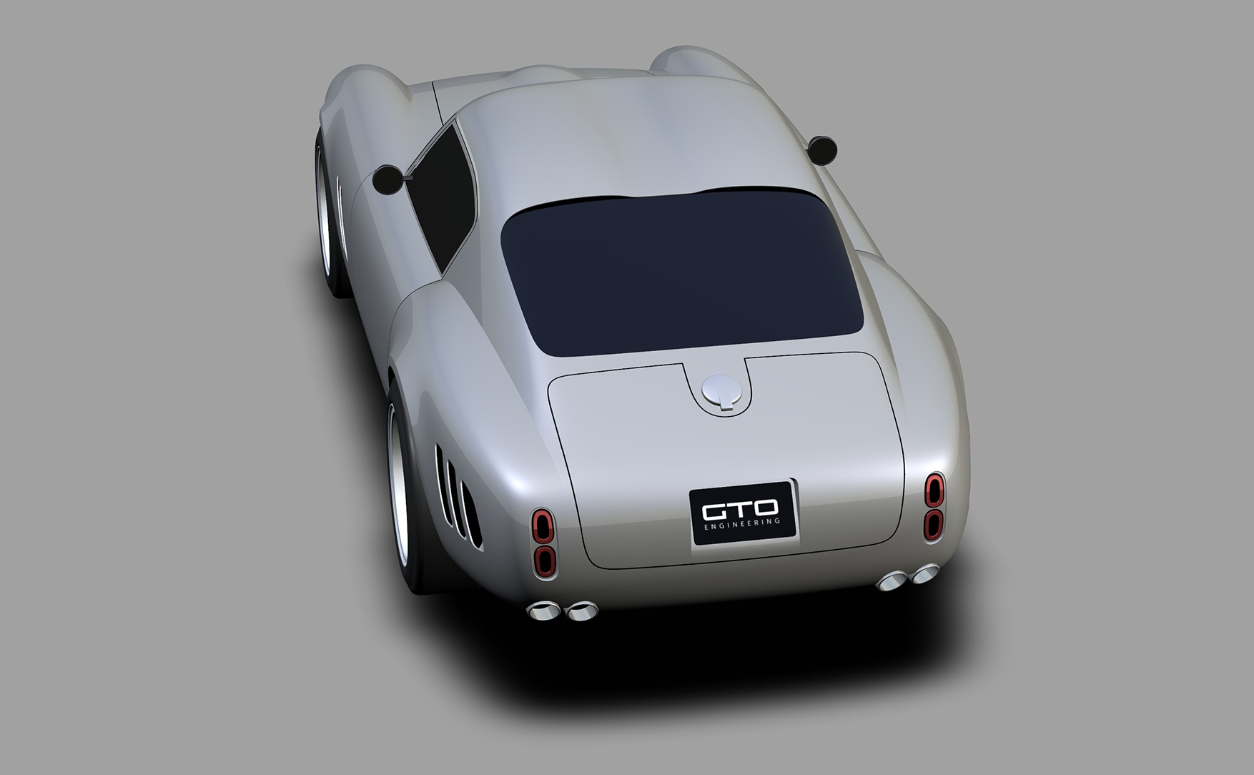 Project Moderna design render rear three-quarter