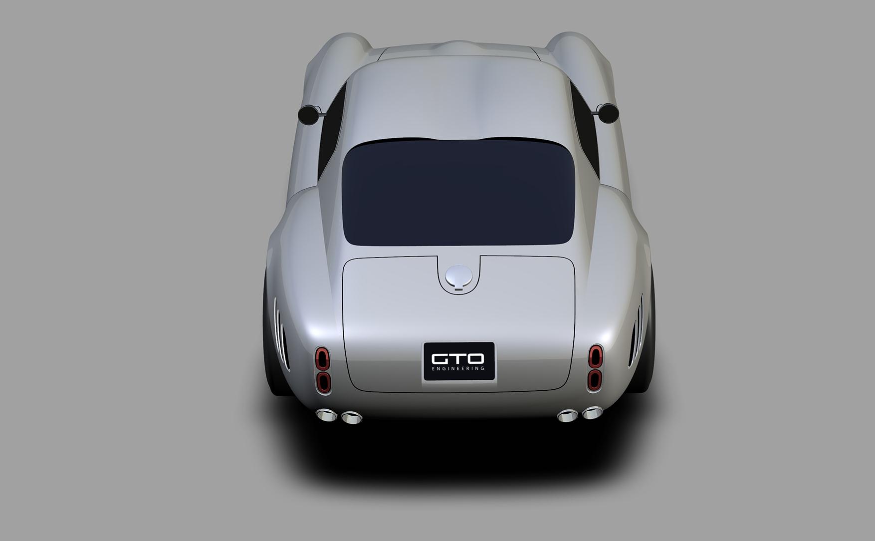 Project Moderna design render rear