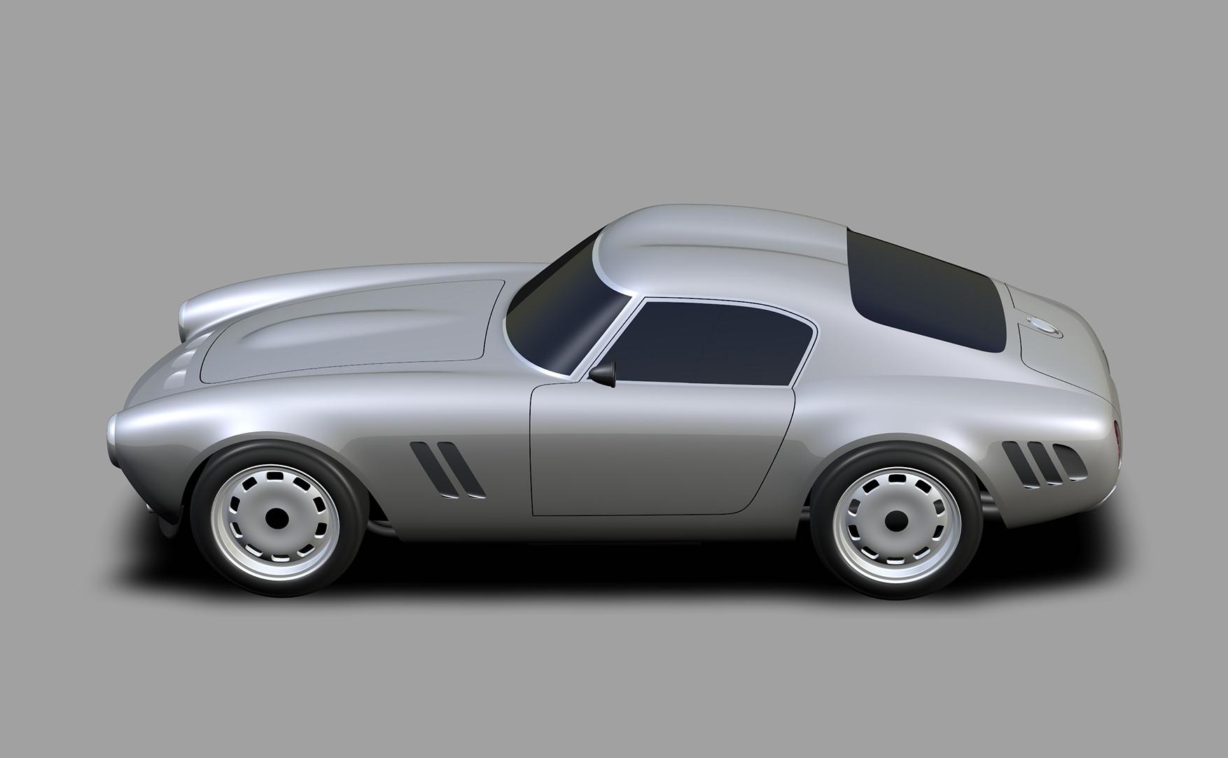 Project Moderna design render side profile