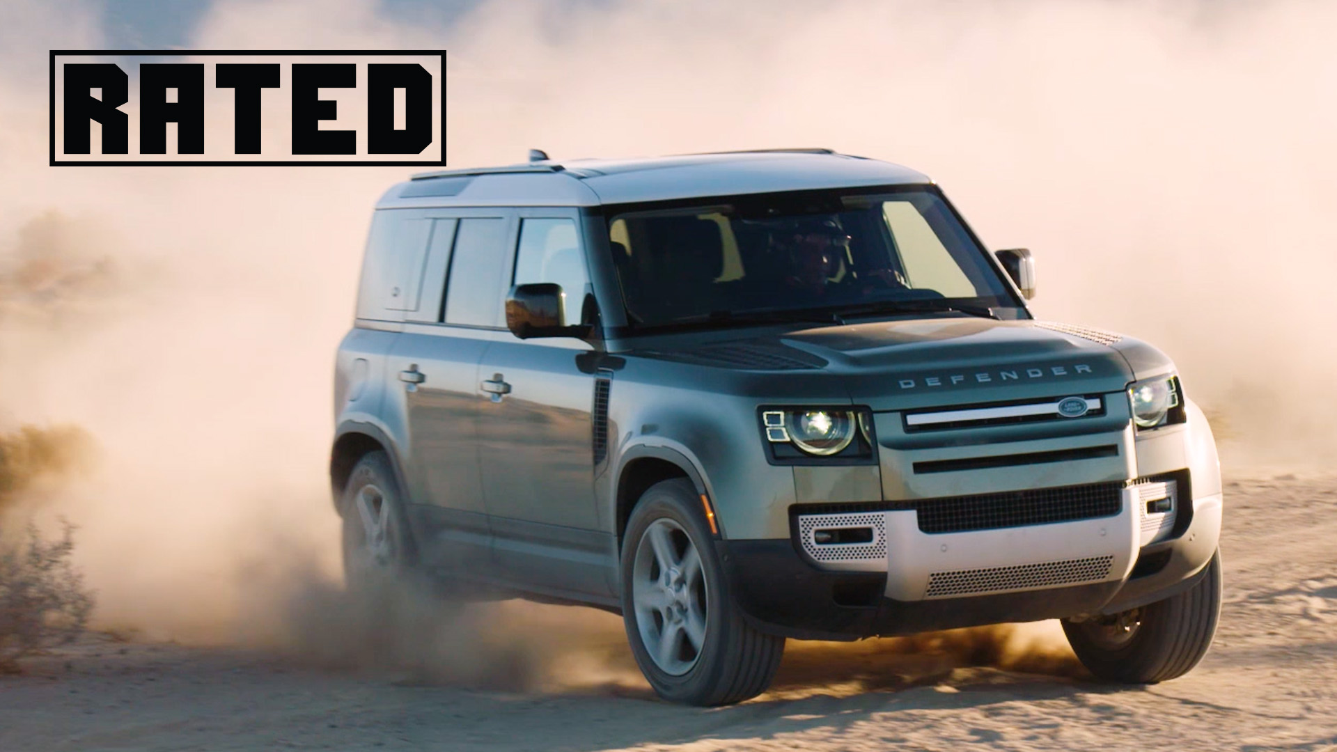 Rated Land Rover Defender
