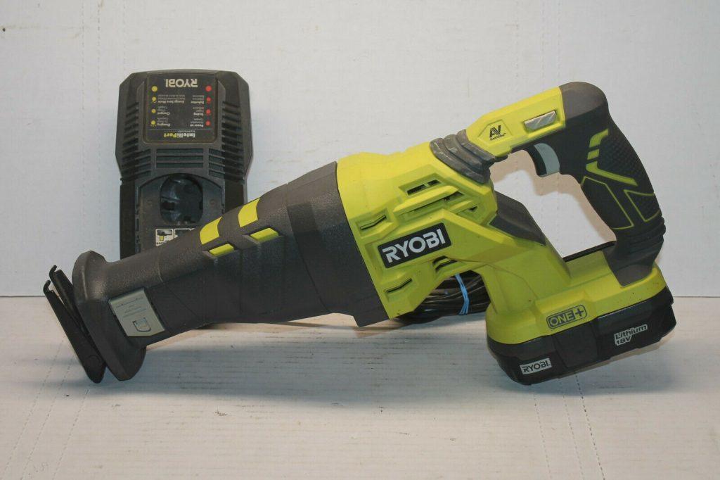 Ryobi Cordless Battery Operated Sawzall Tool
