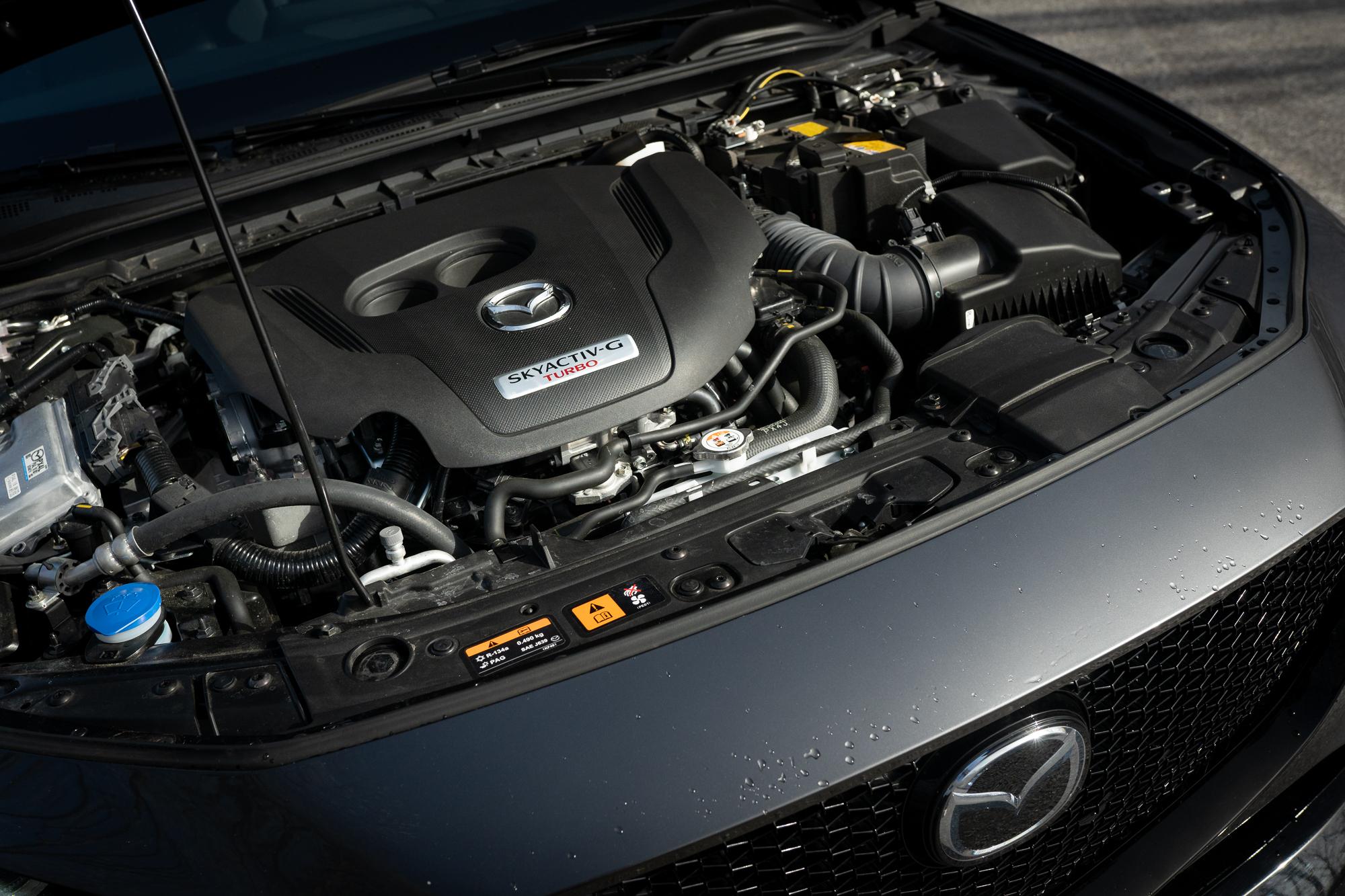 2021 Mazda 3 2.5T AWD engine bay