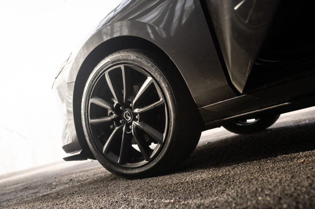 2021 Mazda 3 2.5T AWD front wheel detail