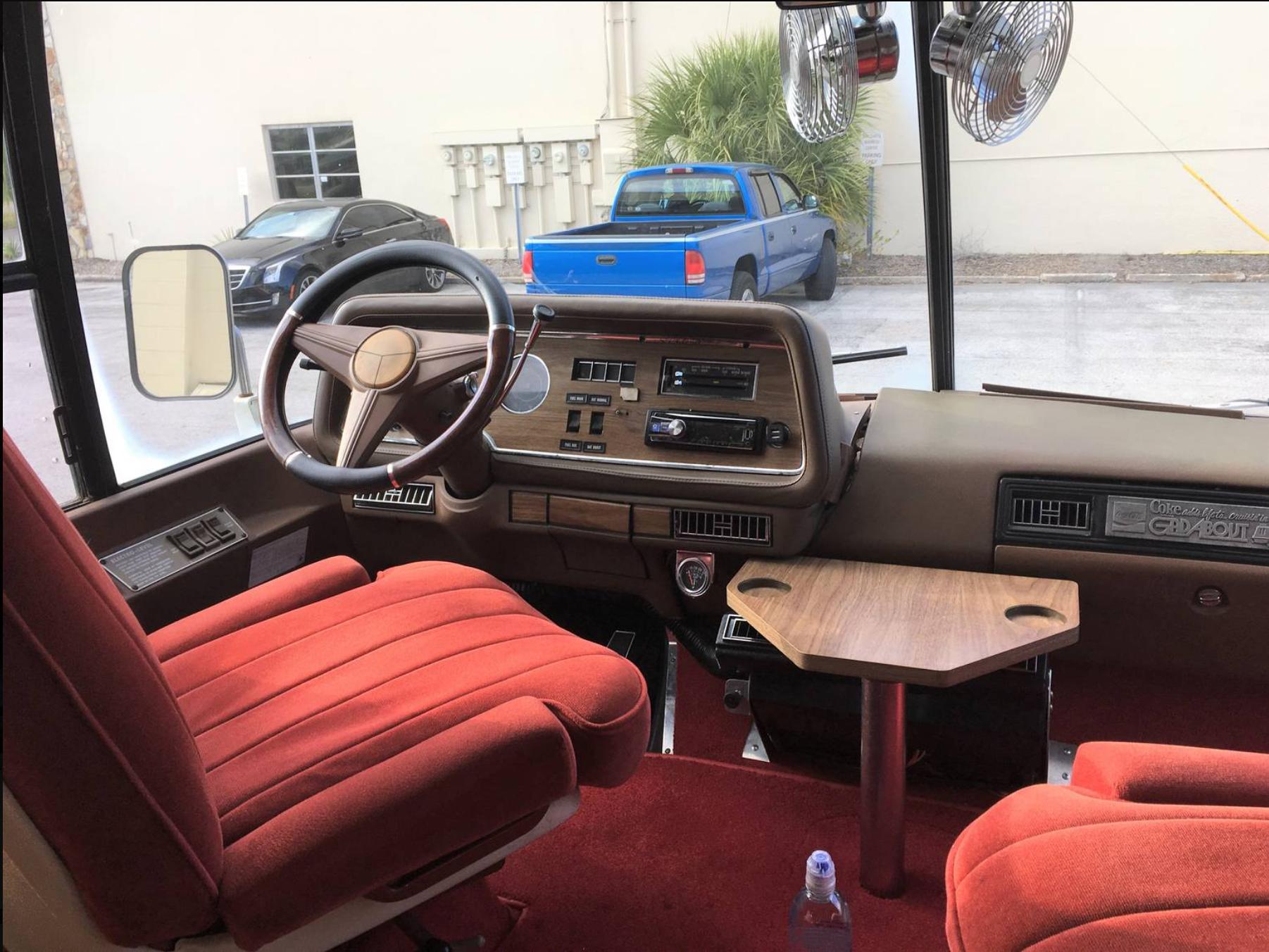 1978 GMC RV interior