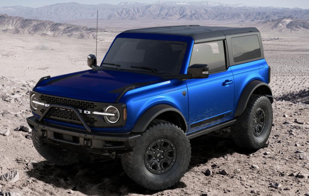 Two-door 2021 Bronco