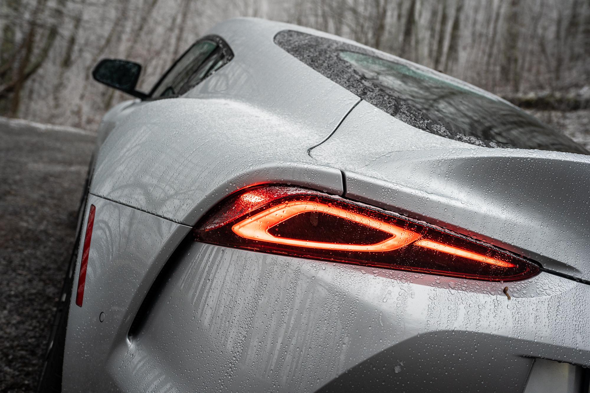 Toyota Supra taillight detail