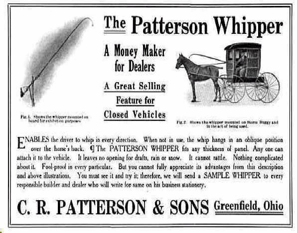 patterson whisperer horse buggy carriage ad
