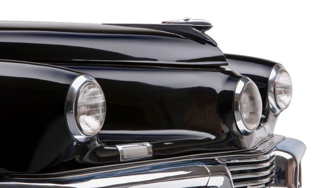 Tucker - closeup headlights