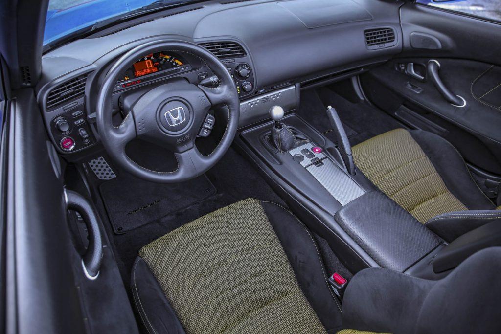 2008 Honda S2000 CR interior