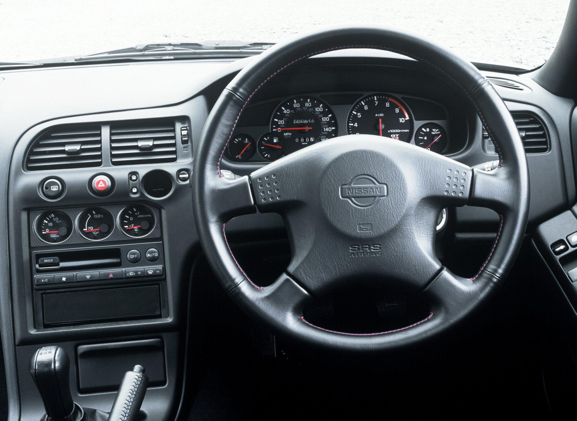 1995 Nissan skyline R33 interior