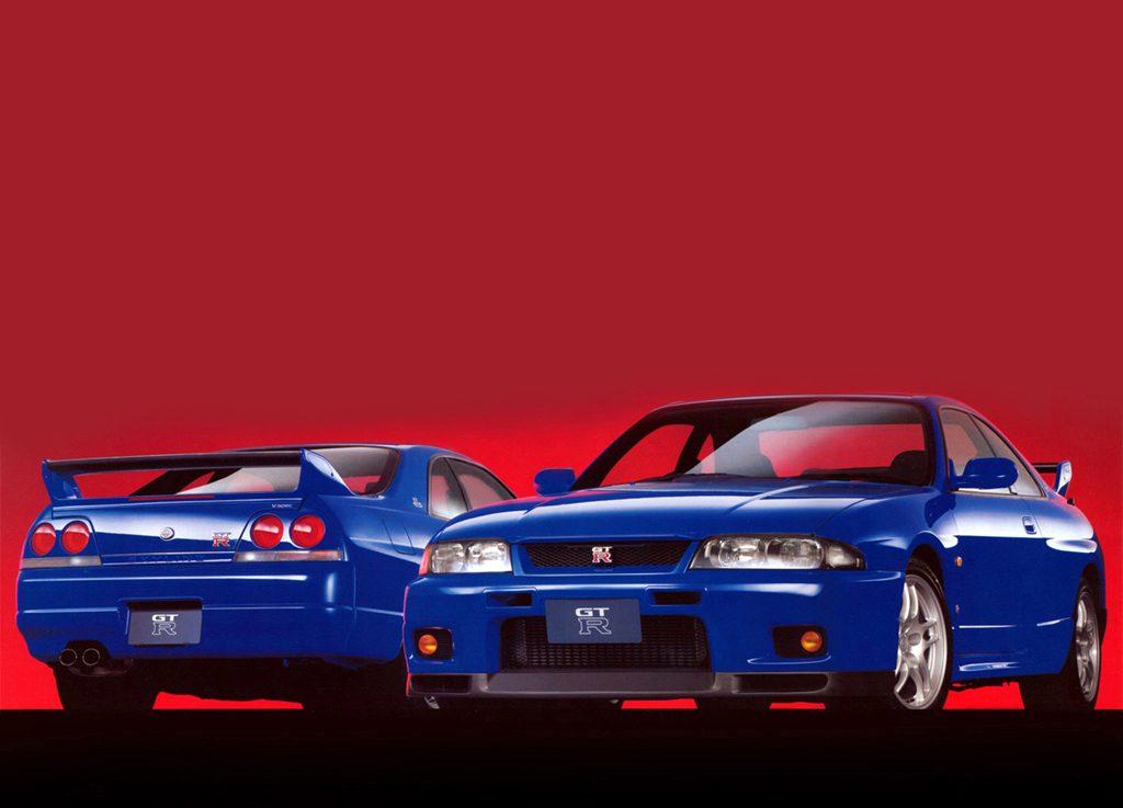 Nissan skyline R33 V-Spec LM Limited & GT-R LM Limited