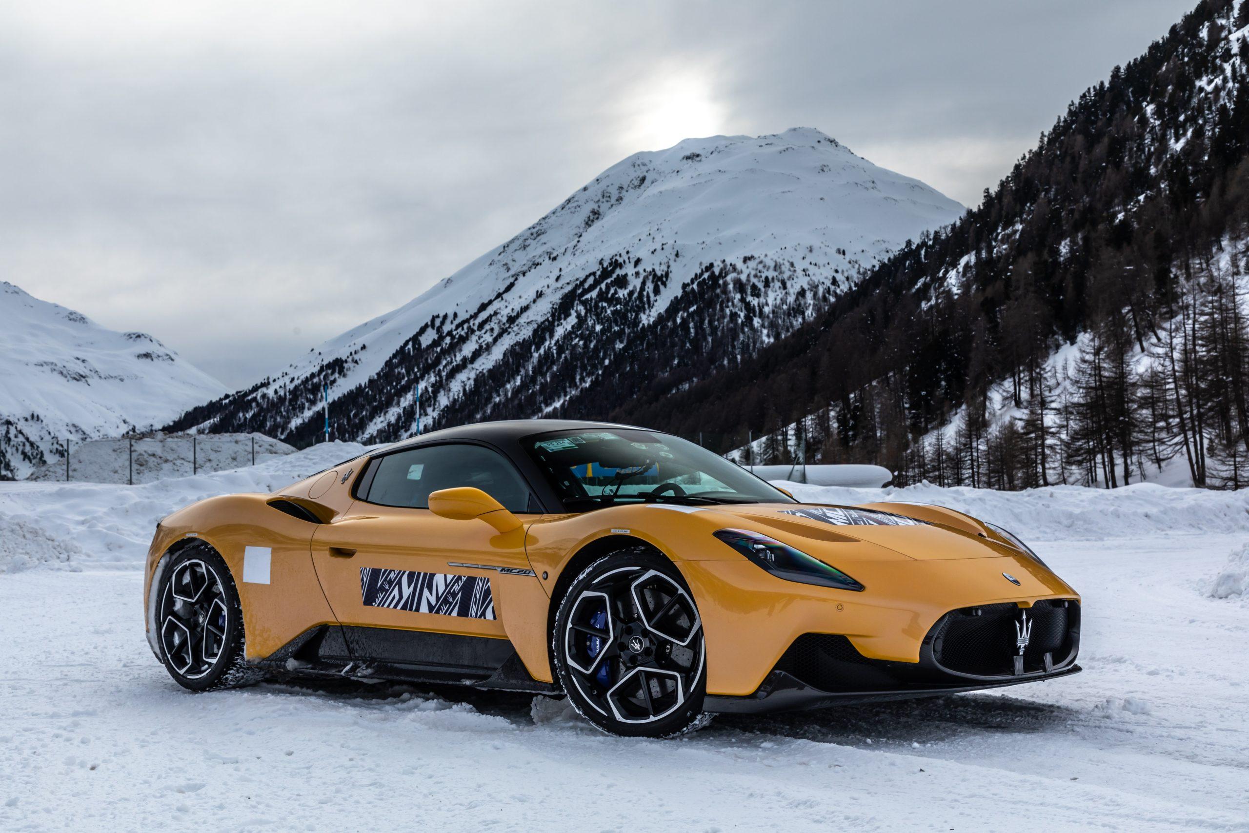 Maserati_MC20_Cold_Test_Livigno 2
