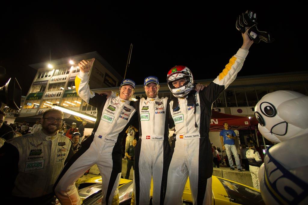 2015 Rolex 24 at Daytona corvette team c7.r class win