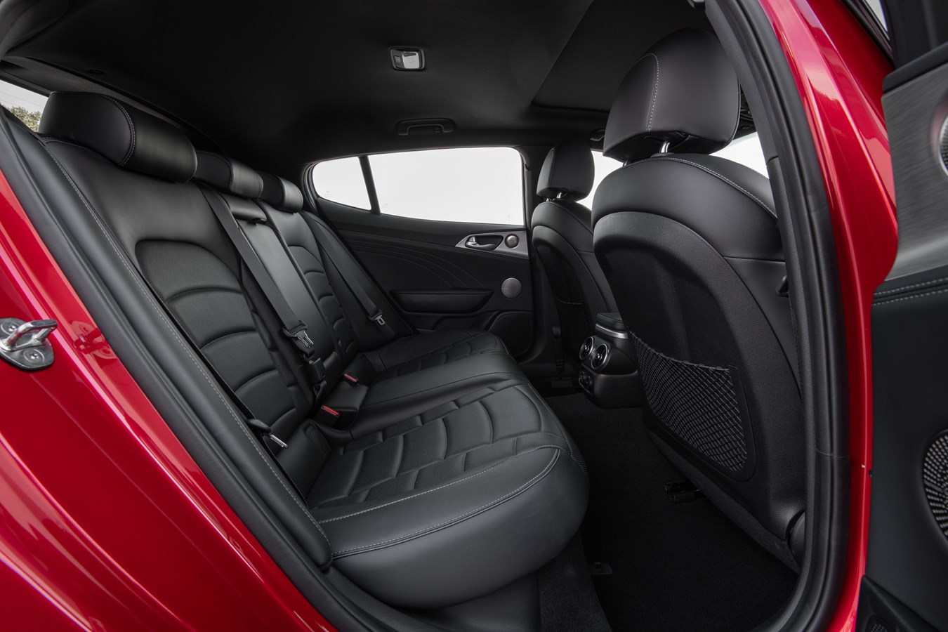 2022 Stinger GT interior rear seat