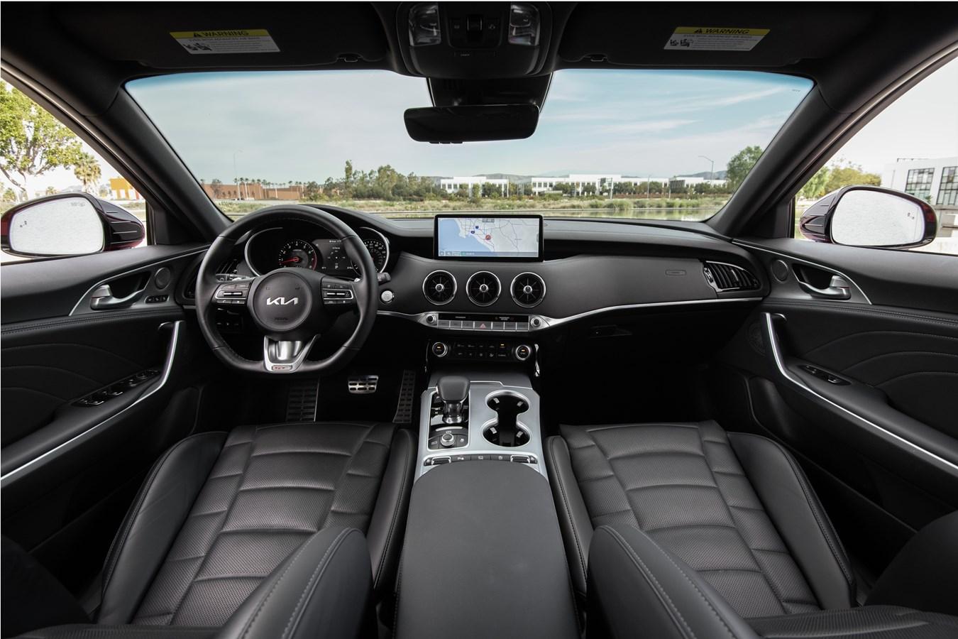 2022 Stinger GT interior front