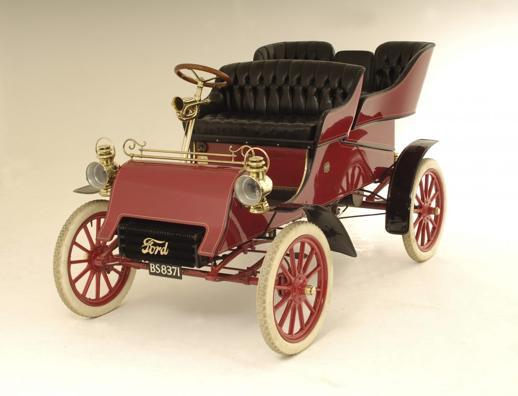 1903 Ford Model A front three-quarter red