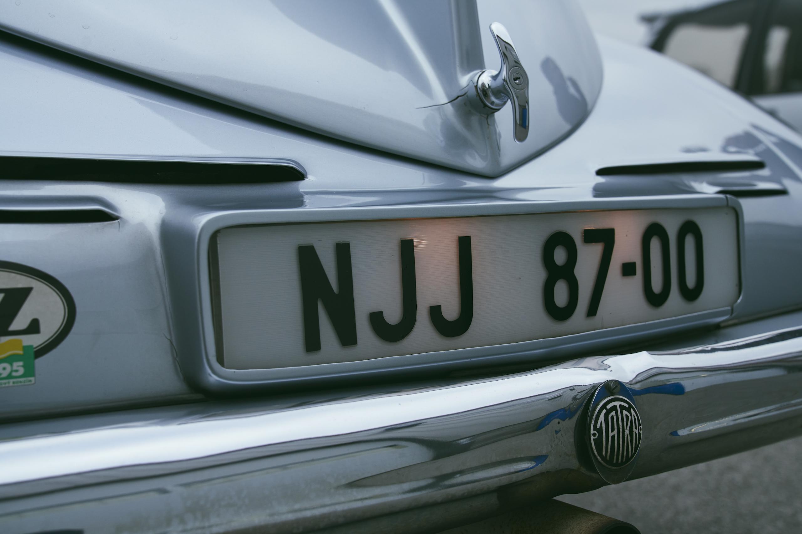 1947 Tatra T87 rear detail