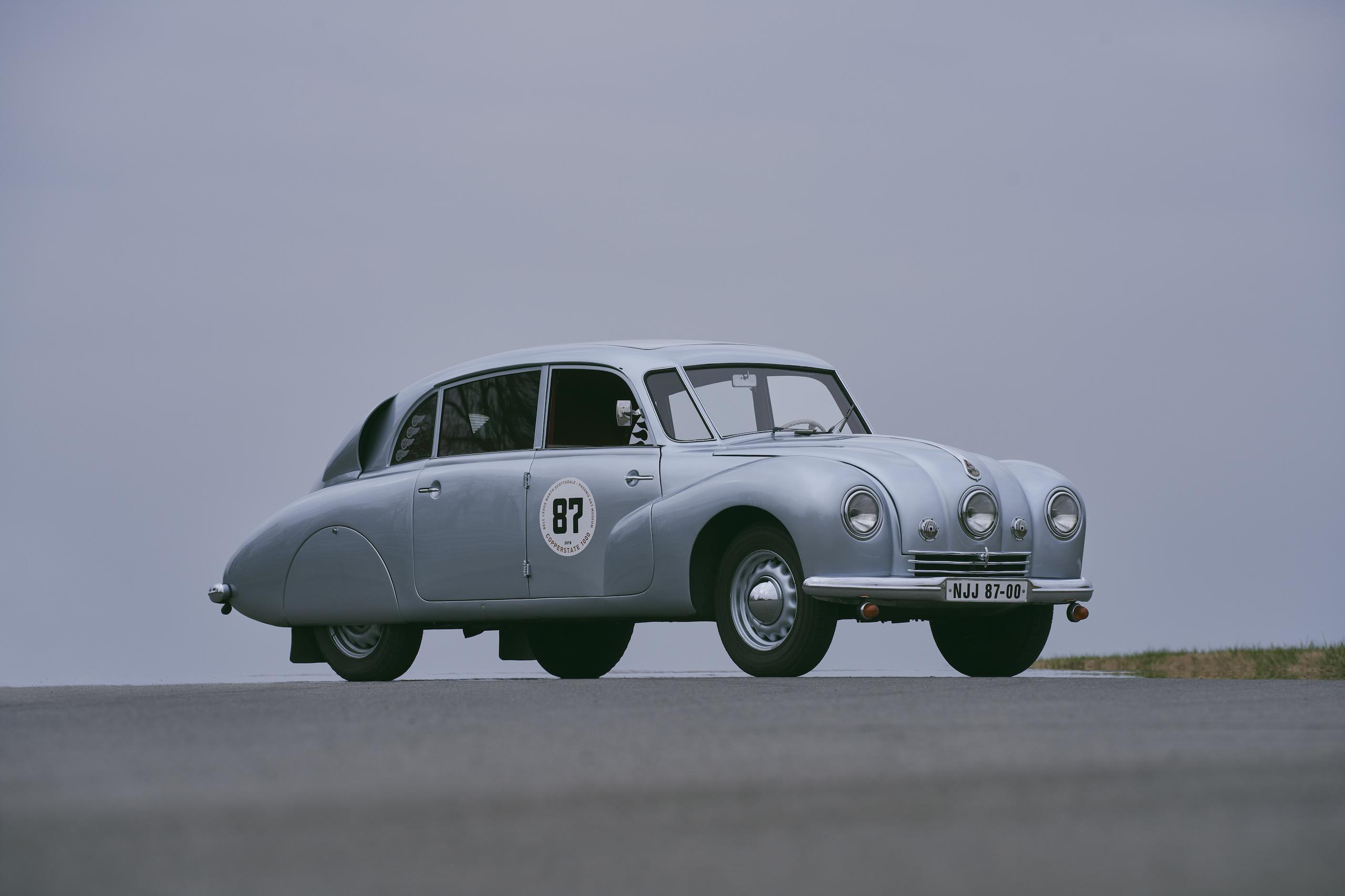 1947 Tatra T87 front three-quarter