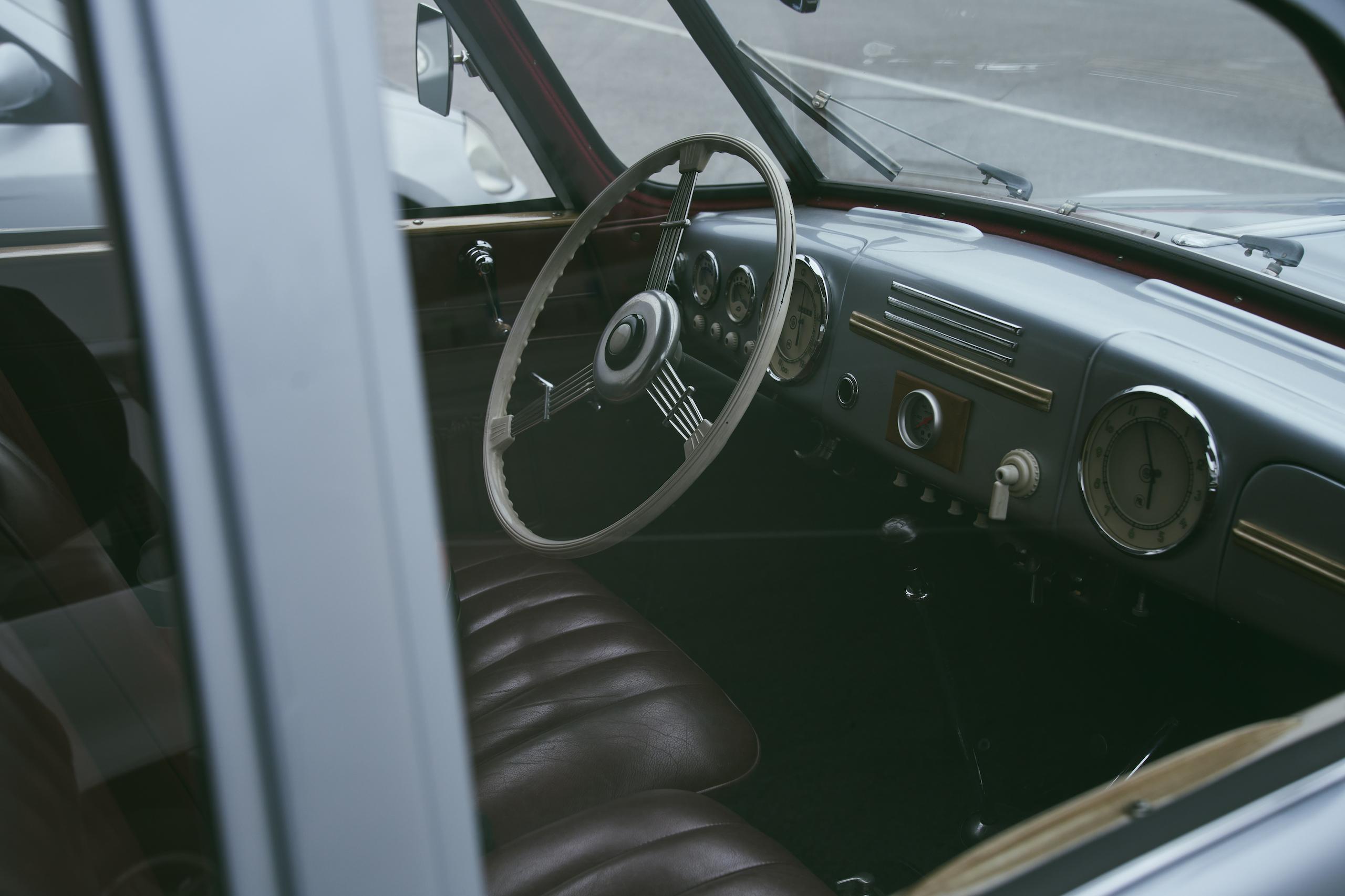 1947 Tatra T87 front interior