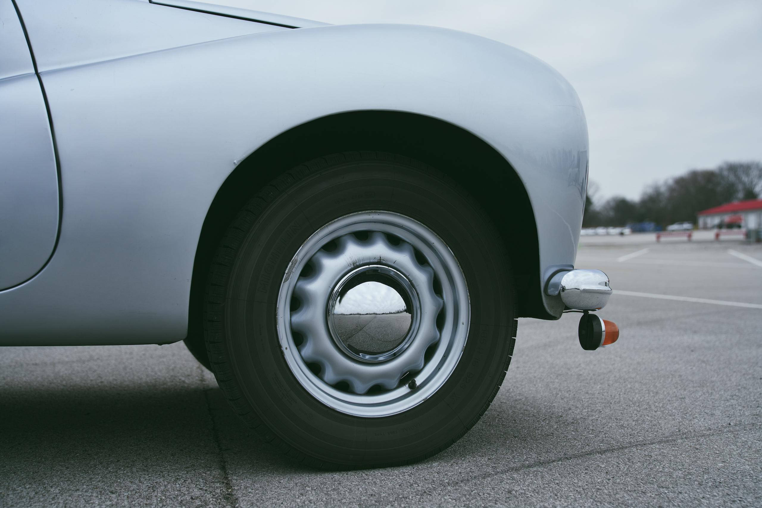 1947 Tatra T87 front wheel