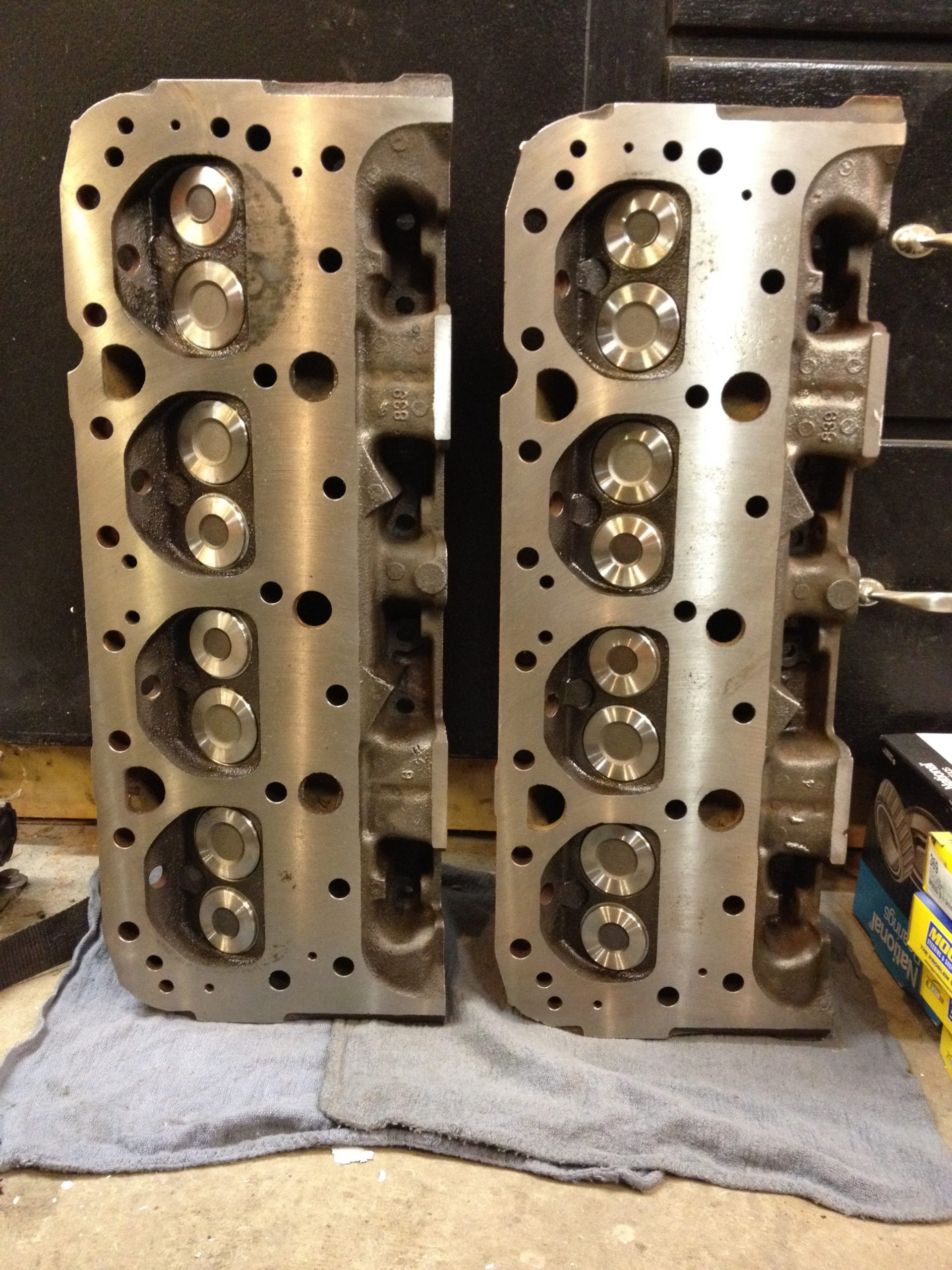 1959 Chevrolet Impala engine block