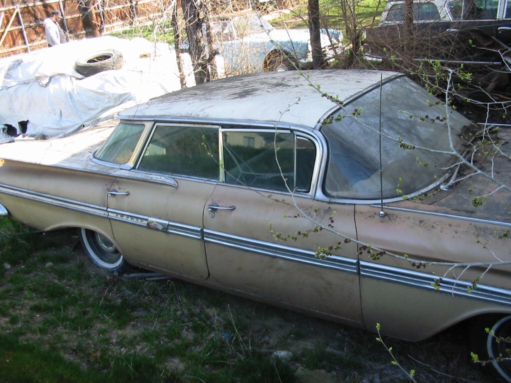 1959 Chevrolet Impala unrestored