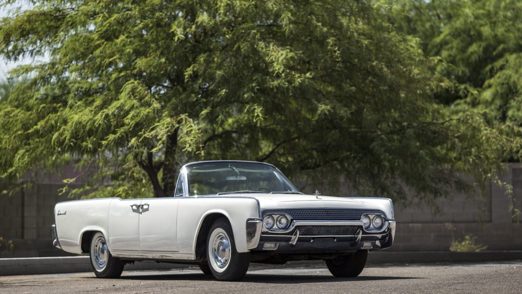 1961 Lincoln Continental front three-quarter