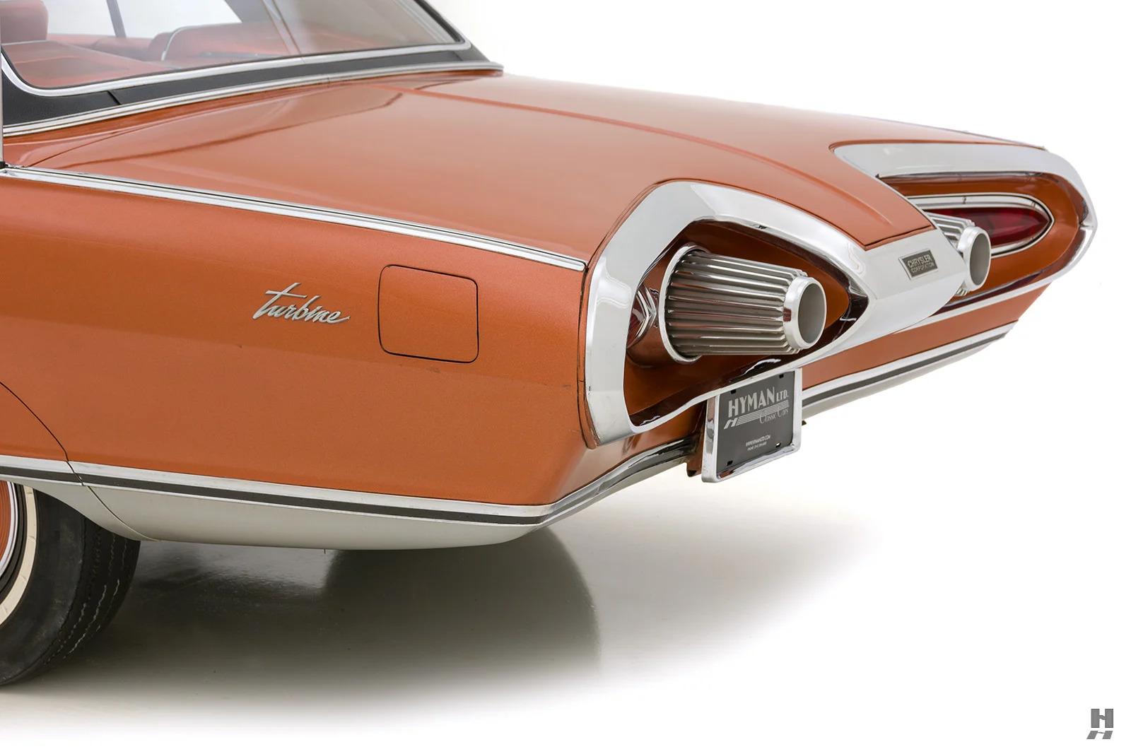 1963 Chrysler Turbine Car rear