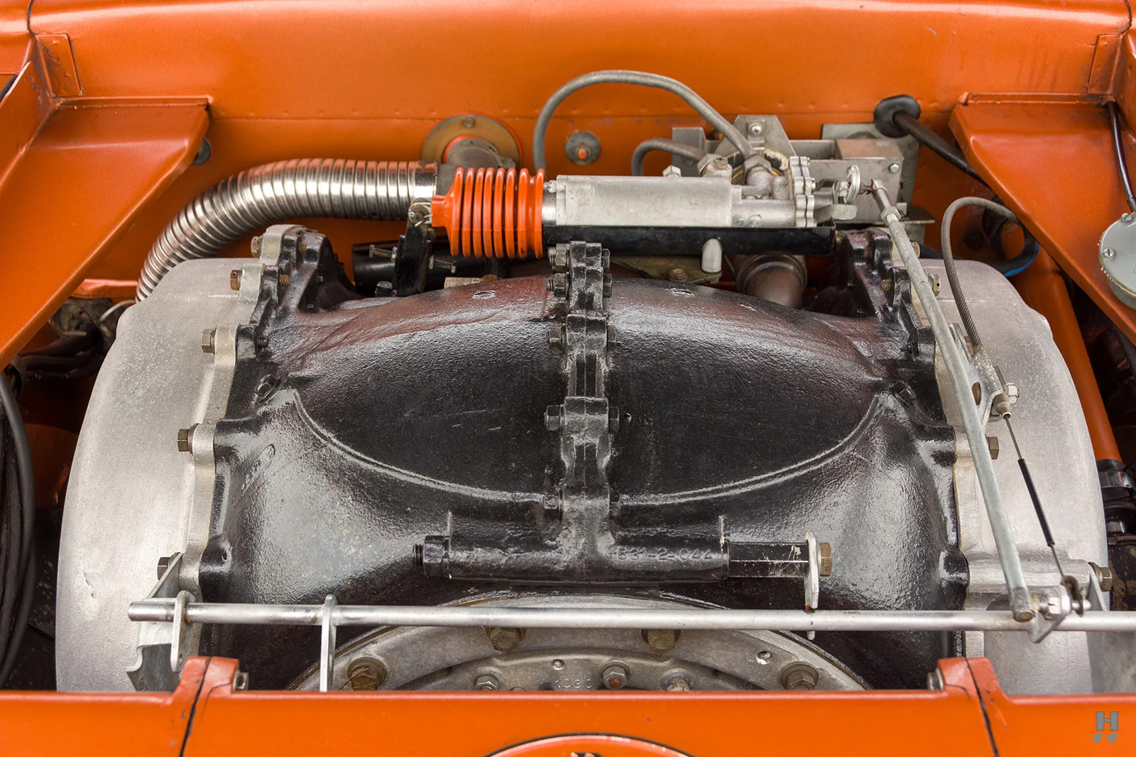 1963 Chrysler Turbine Car engine close