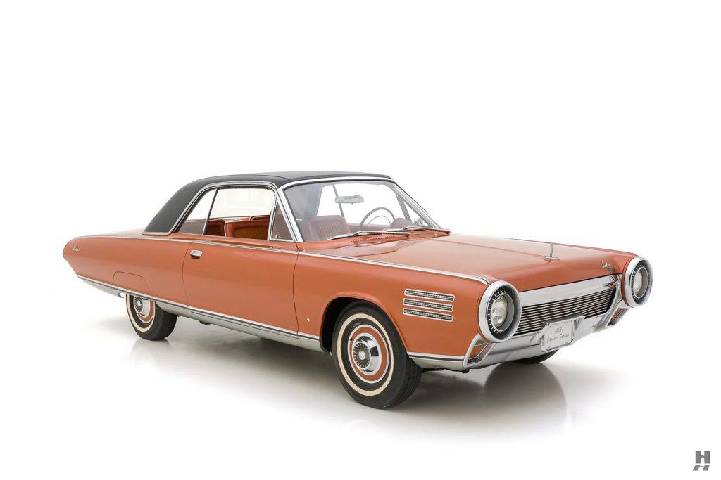 1963 Chrysler Turbine Car front three-quarter
