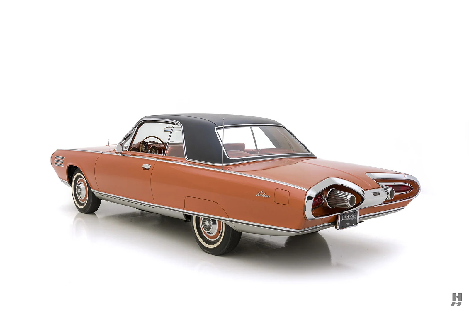 1963 Chrysler Turbine Car rear three-quarter