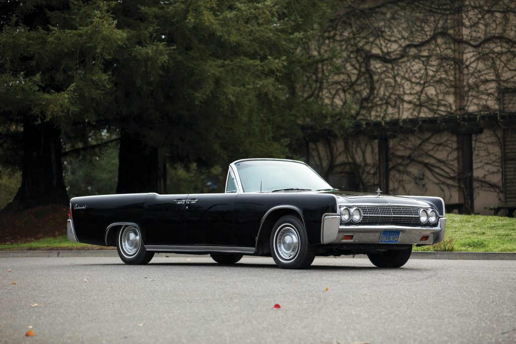 1963 Lincoln Continental front three-quarter