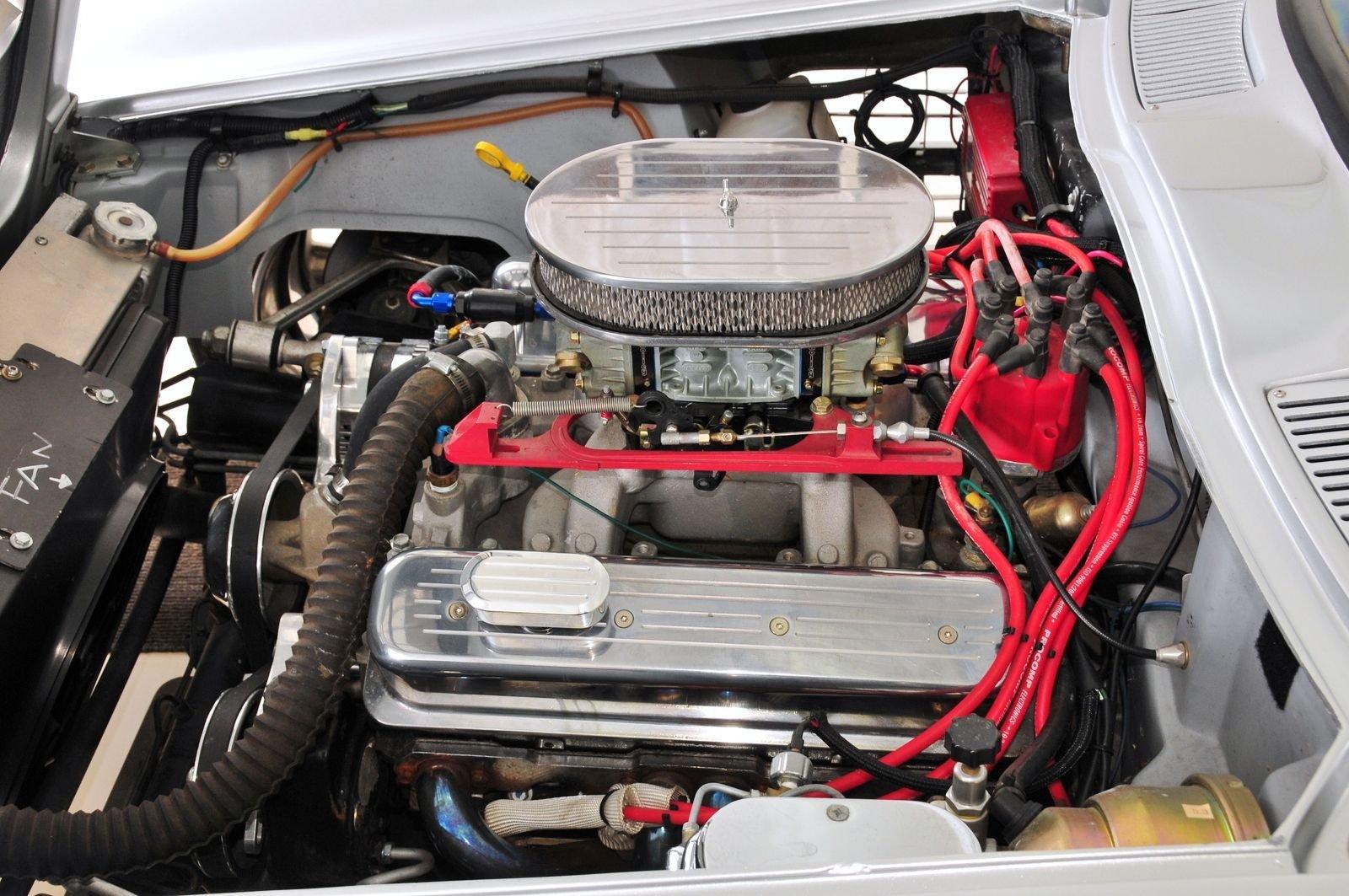 1963 Chevrolet Corvette Mongoose Motorsports Grand Sport Fast Five engine