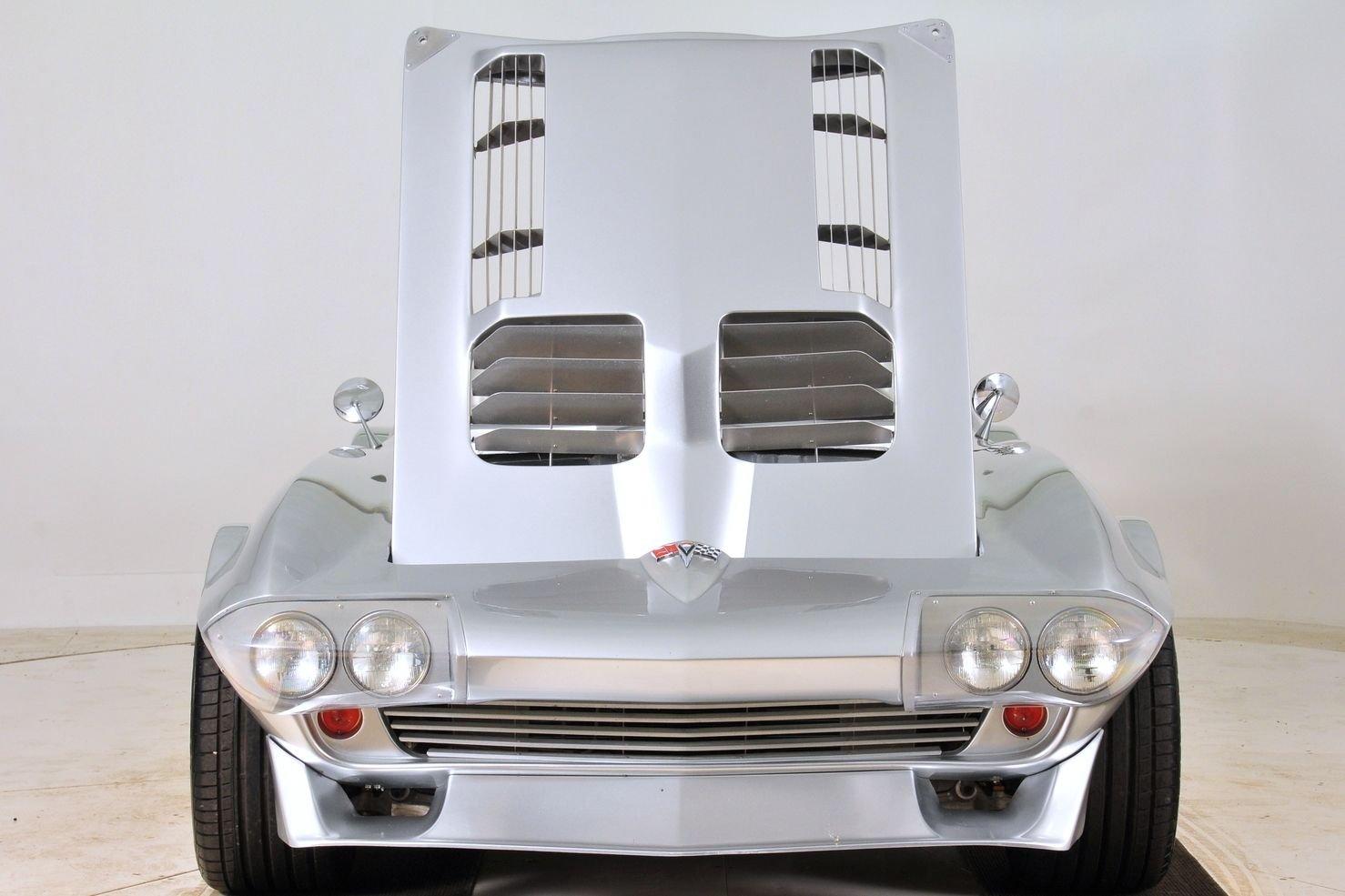 1963 Chevrolet Corvette Mongoose Motorsports Grand Sport Fast Five hood up