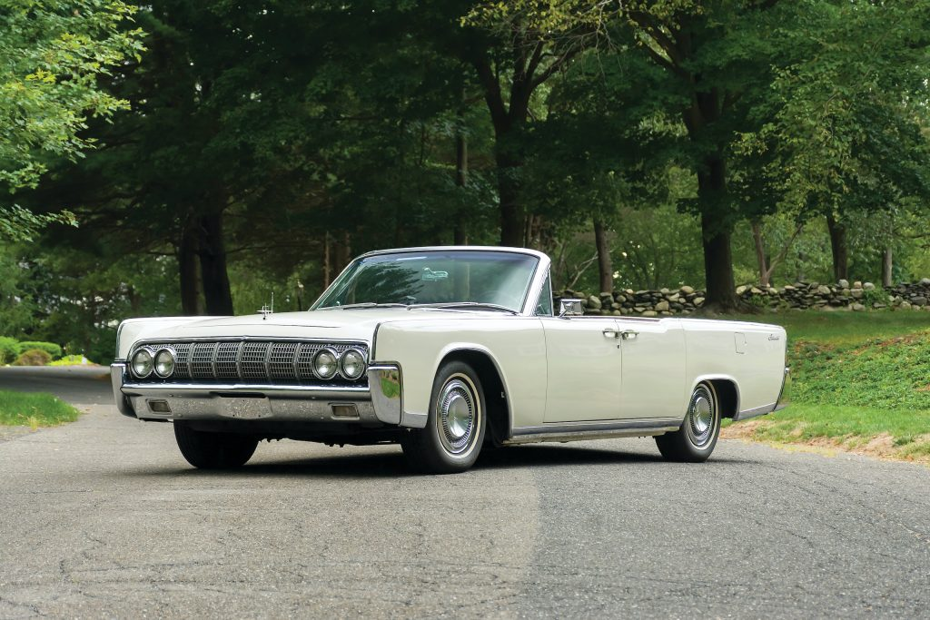 1964 Lincoln Continental front three-quarter
