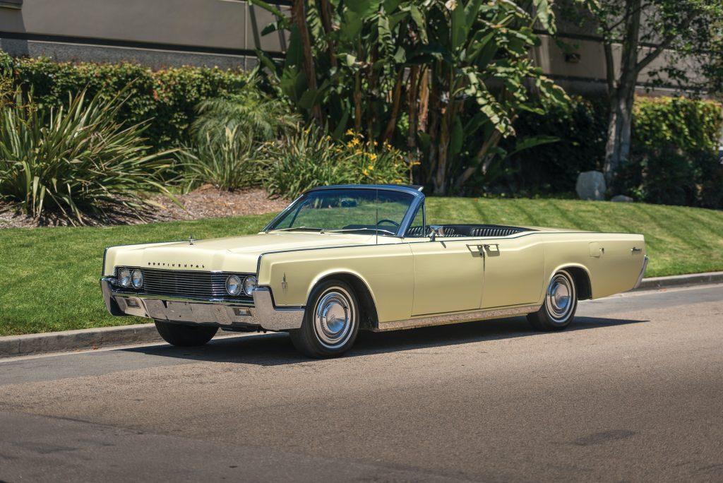 1966 Lincoln Continental front three-quarter