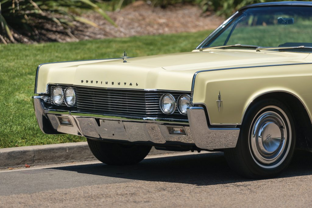 1966 Lincoln Continental front close