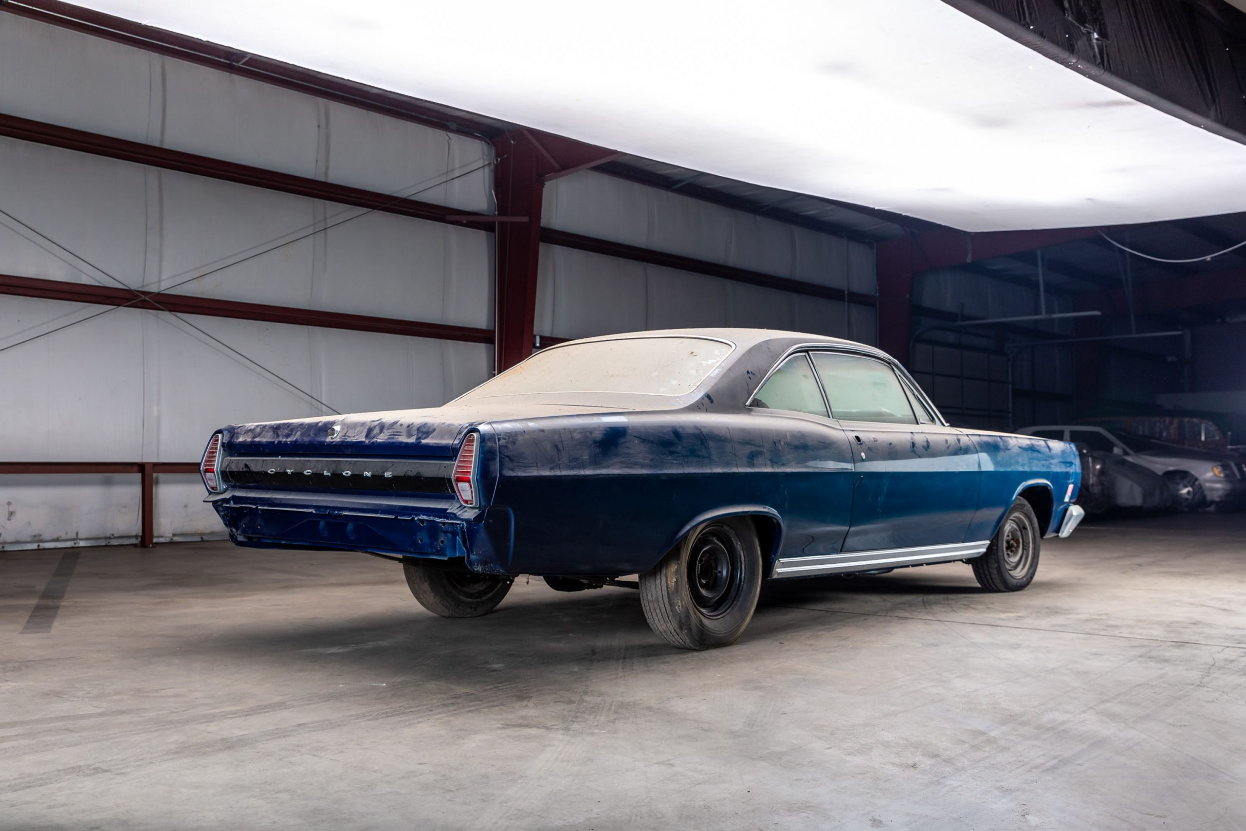 1967 Mercury Comet Cyclone R-Code rear three-quarter
