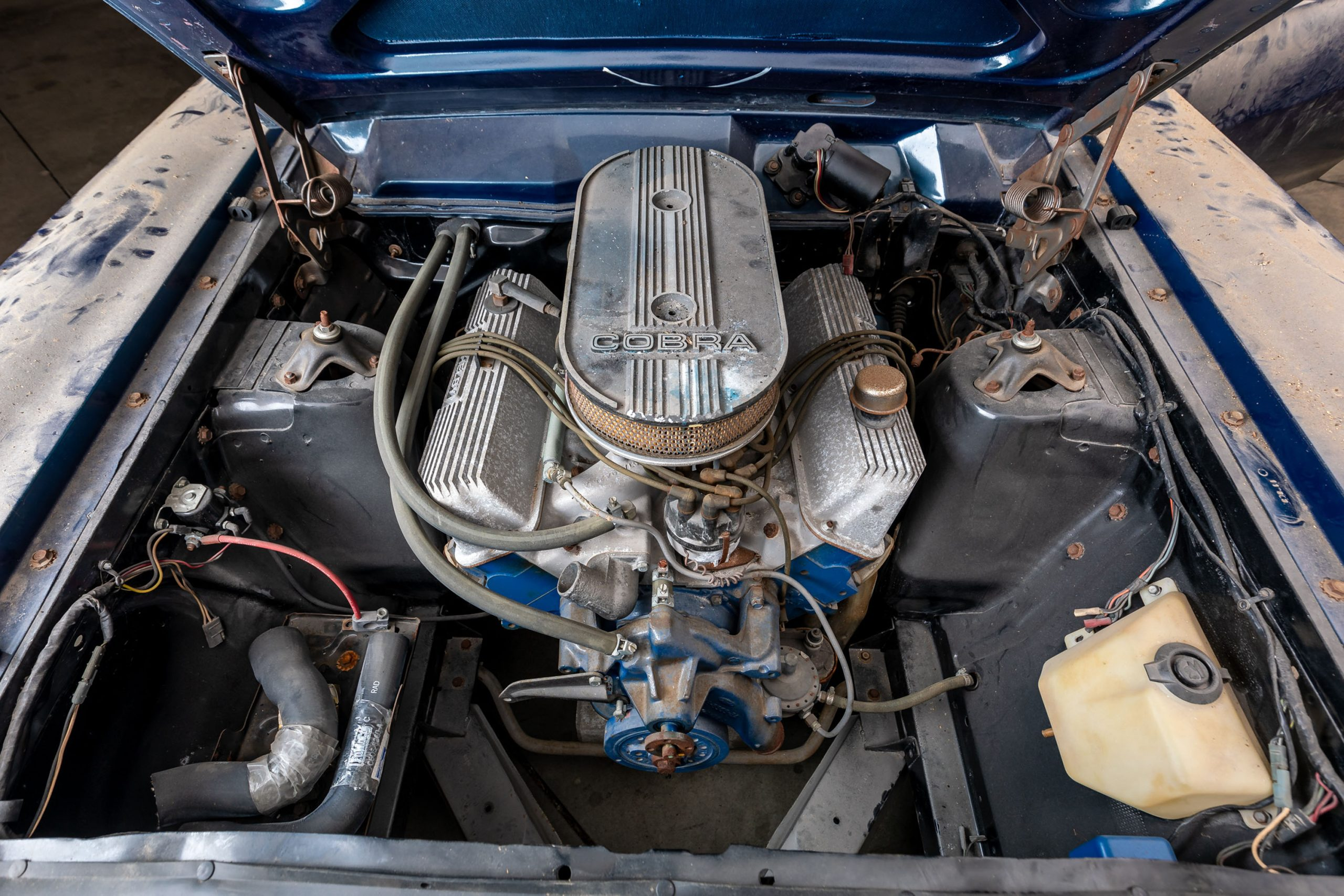 1967 Mercury Comet Cyclone R-Code engine