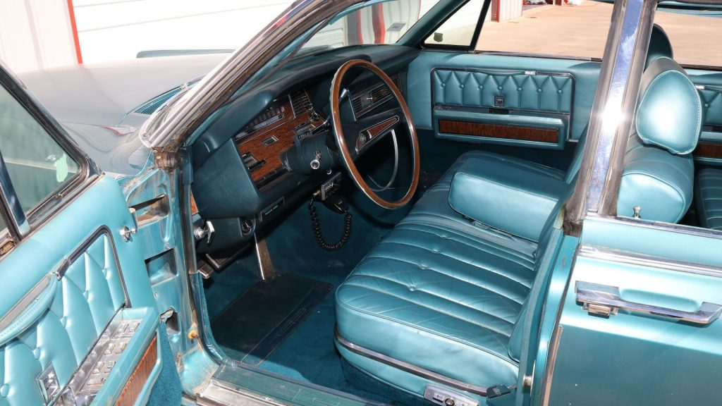 1969 Continental interior Mecum