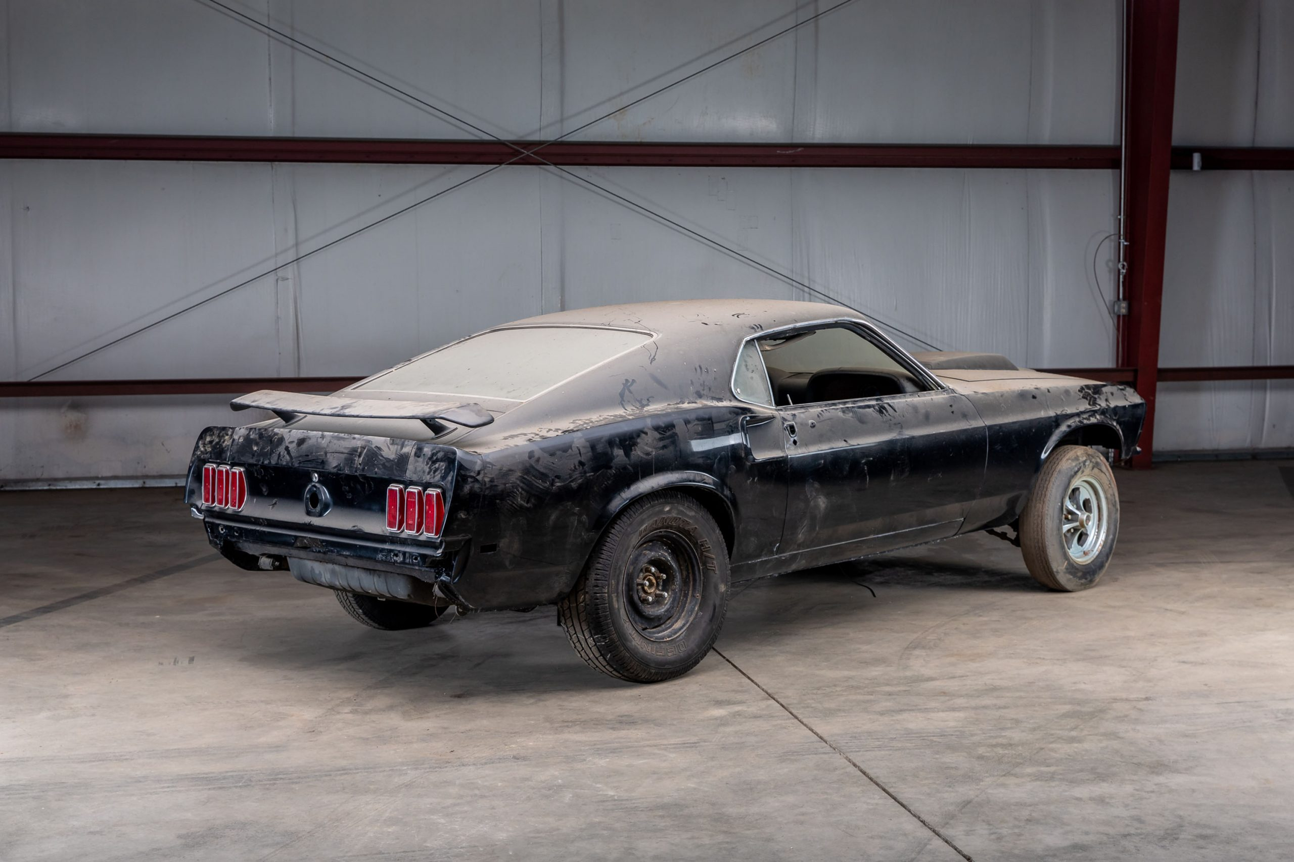 1969 Ford Mustang Boss 429 rear three-quarter