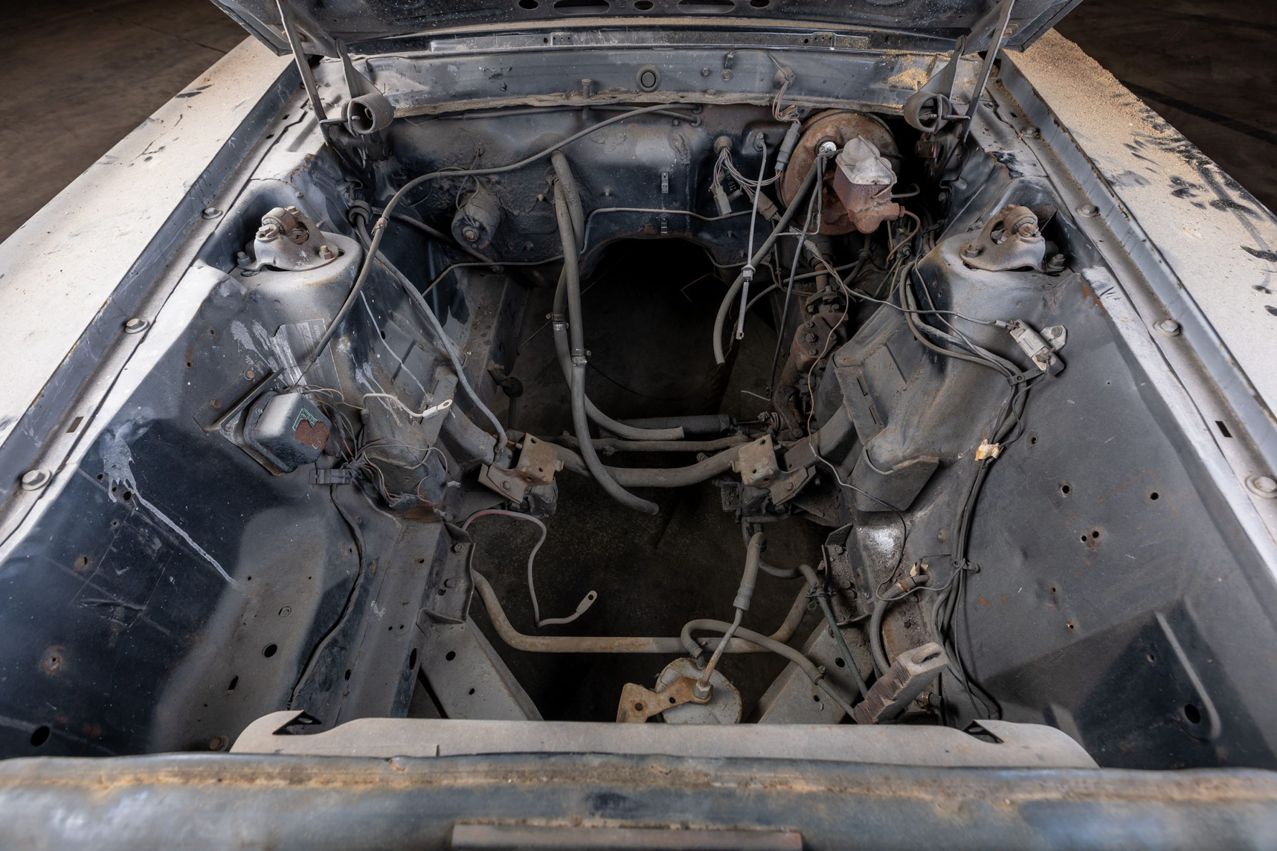 1969 Ford Mustang Boss 429 engine bay