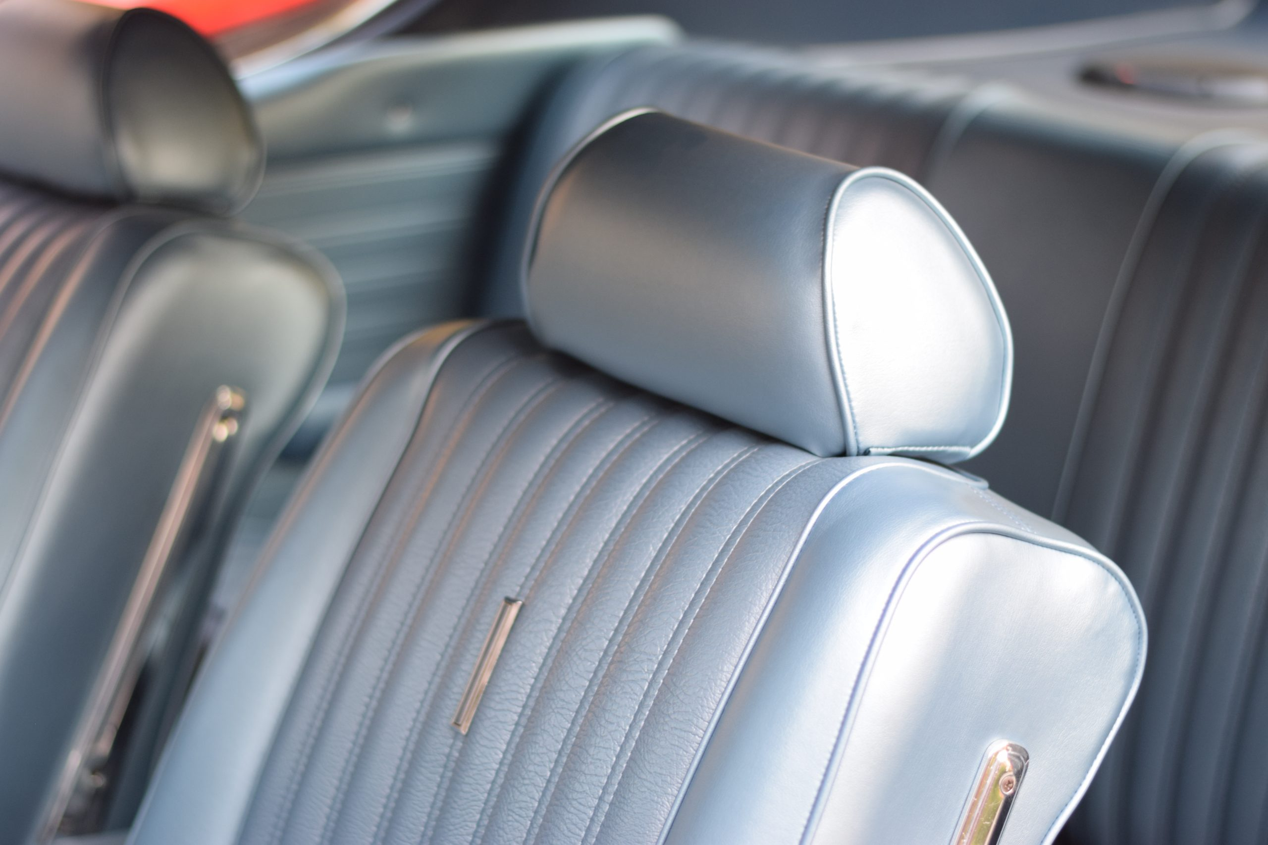 1969 Ford Torino interior front seat