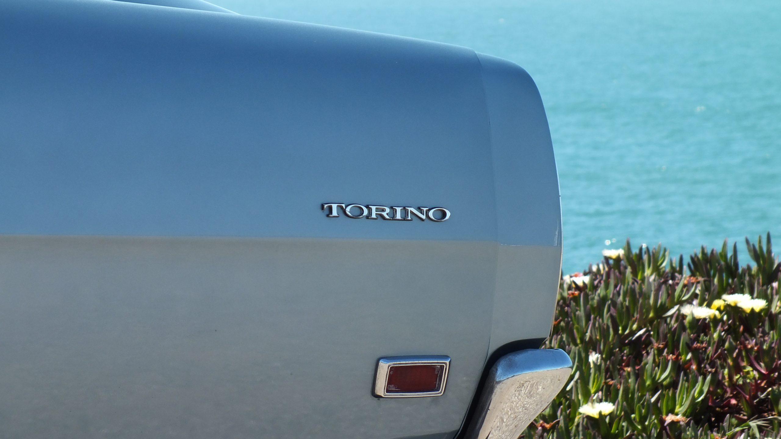 1969 Ford Torino rear quarter panel badge