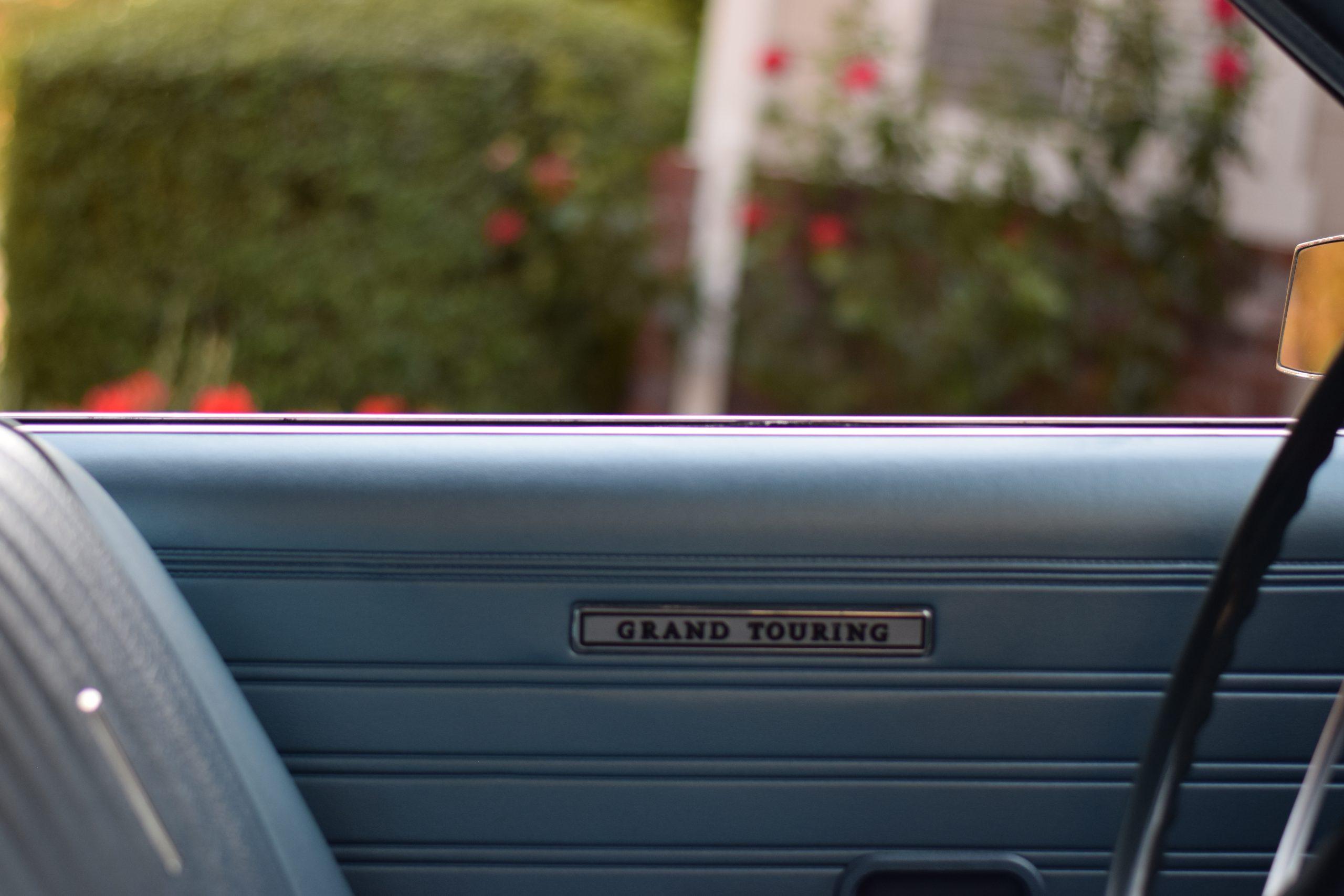 1969 Ford Torino interior door panel