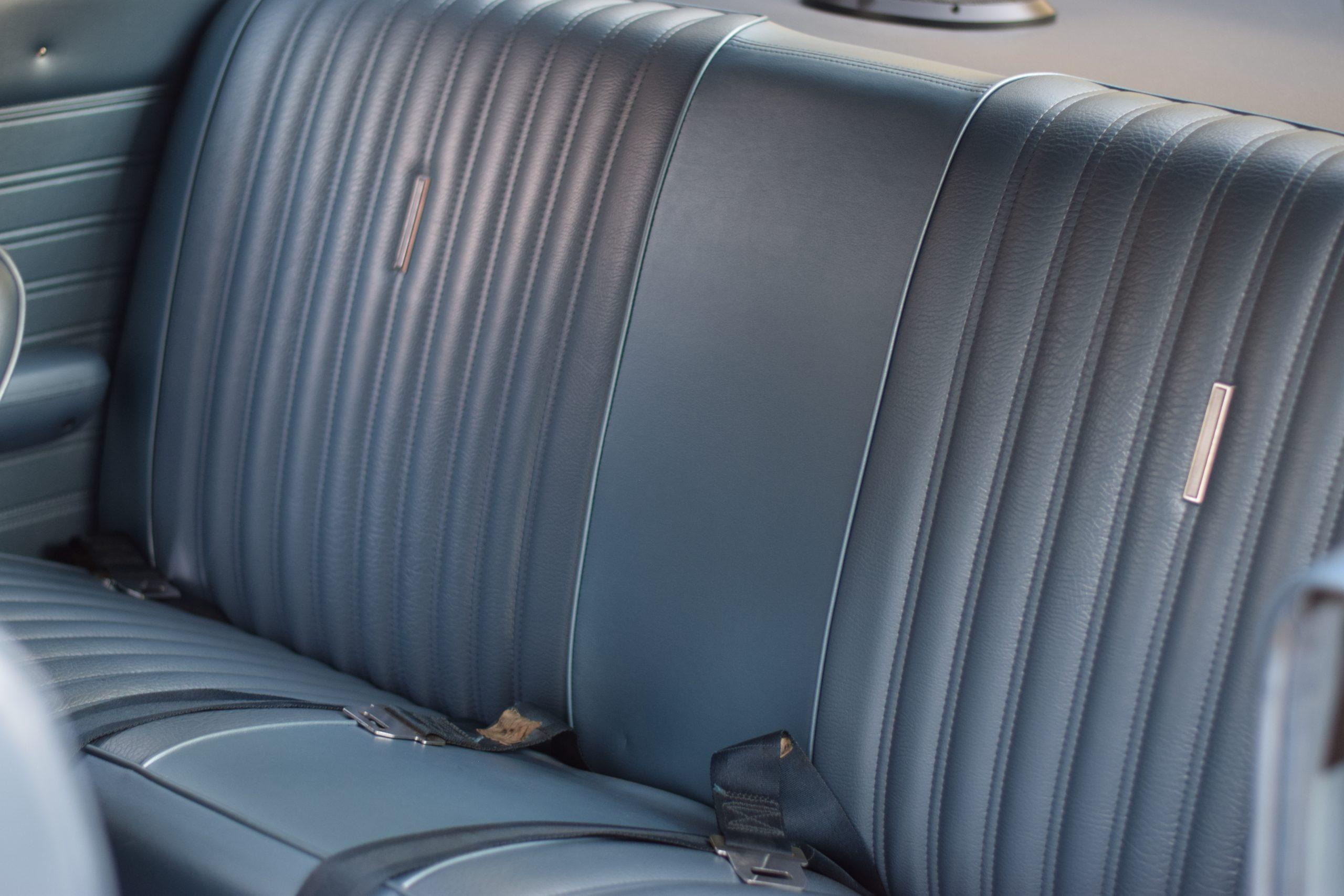 1969 Ford Torino interior rear seat